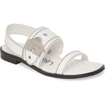 Calvin Klein Telisha Sandal- White