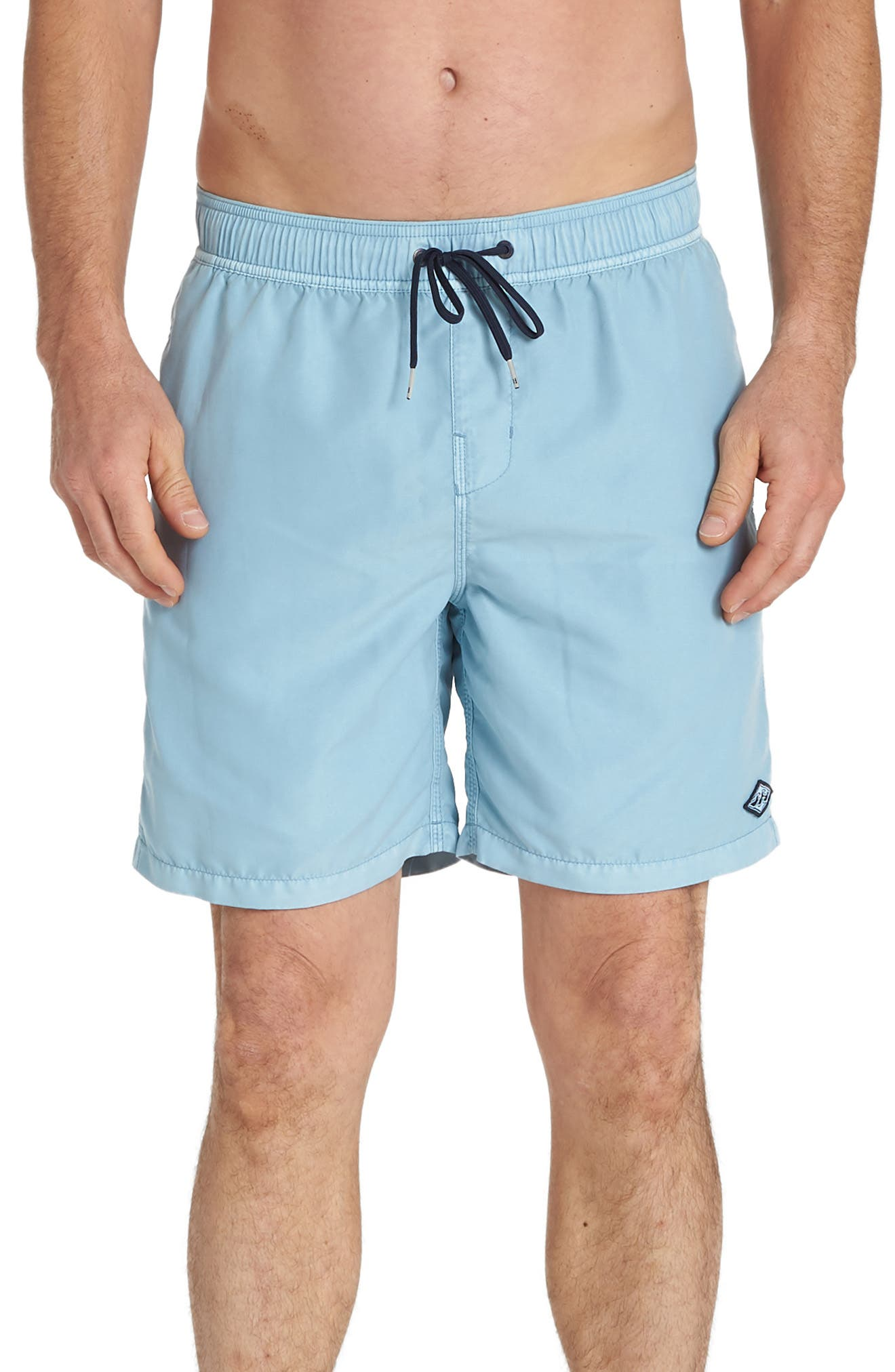Billabong All Day Layback Swim Volley Trunks, Blue