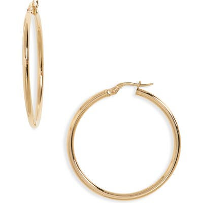 Roberto Coin 35Mm Gold Hoop Earrings