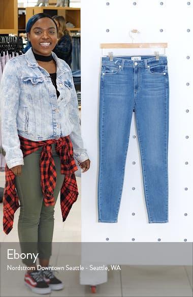 Transcend Vintage - Hoxton High Waist Ankle Skinny Jeans, sales video thumbnail