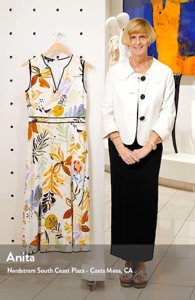 Janelle Floral Print Midi Dress, sales video thumbnail
