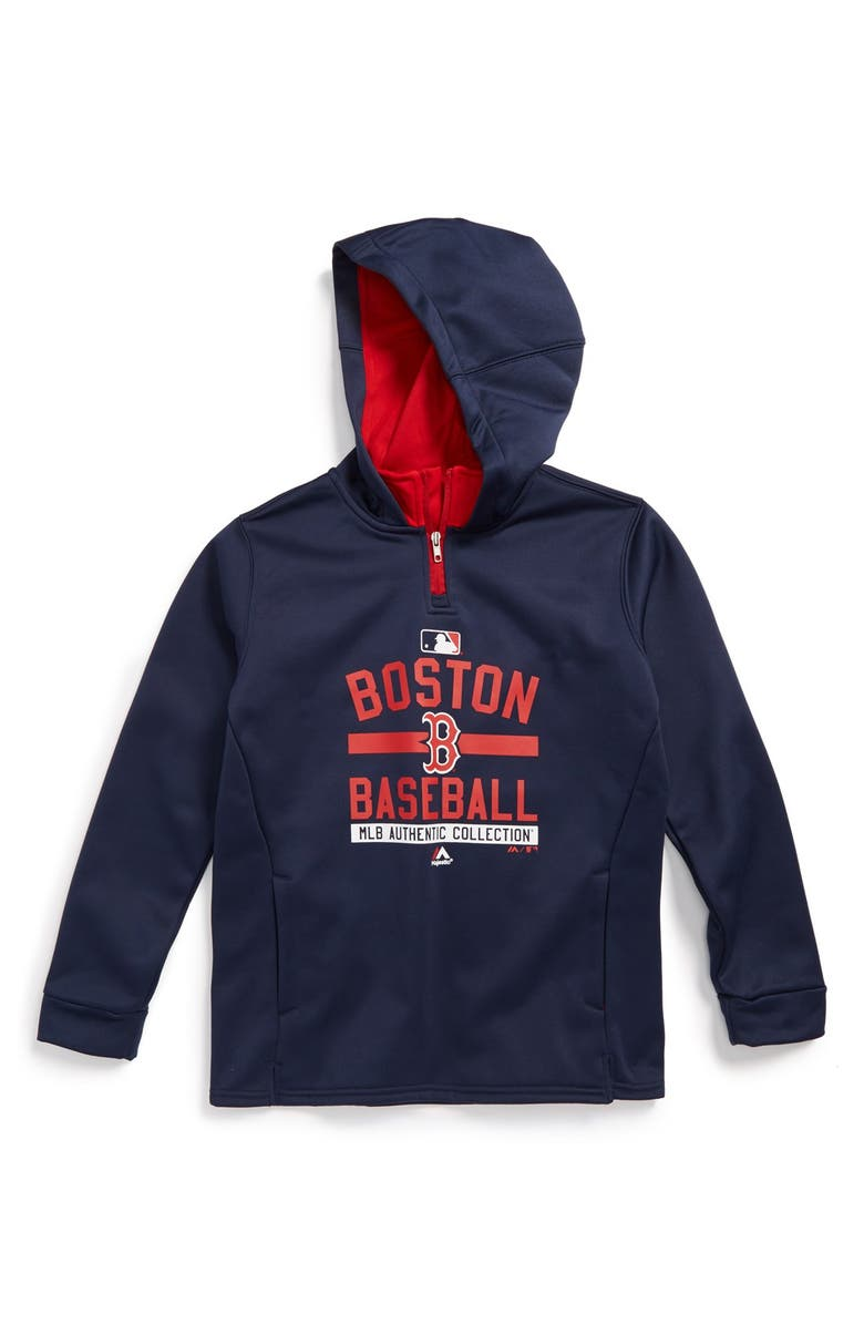 new concept 47283 b4908 Majestic MLB 'Onfield Team Property - Boston Red Sox' Hoodie ...