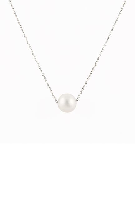 Image of Splendid Pearls 10-11mm Cultured Freshwater Pearl Pendant Necklace