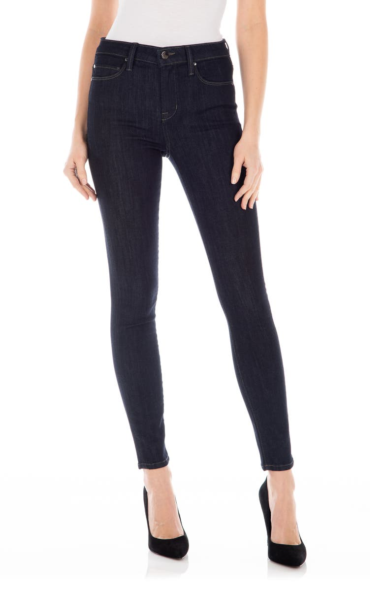 FIDELITY DENIM Gwen High Waist Skinny Jeans, Main, color, WESTGATE