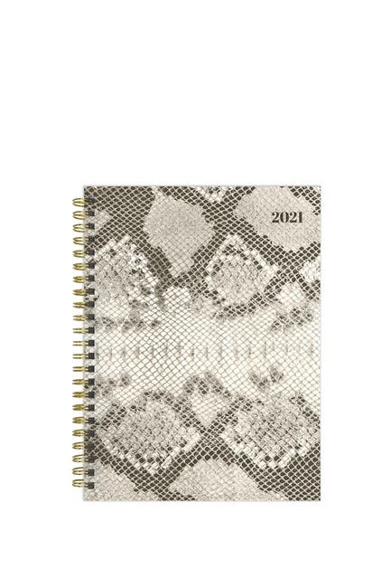 Image of TF Publishing 2021 Snake Print Medium Weekly Monthly Planner