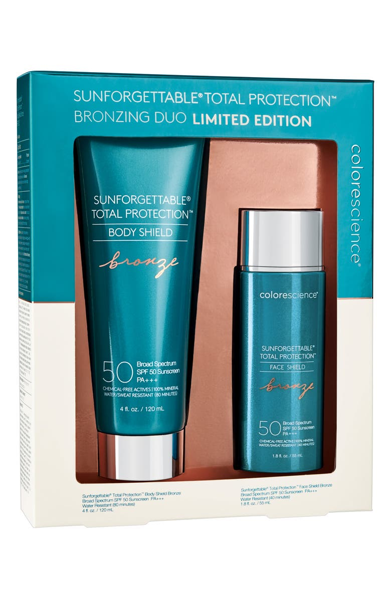 COLORESCIENCE<SUP>®</SUP> Sunforgettable<sup>®</sup> Total Protection Bronzing Duo, Main, color, NO COLOR