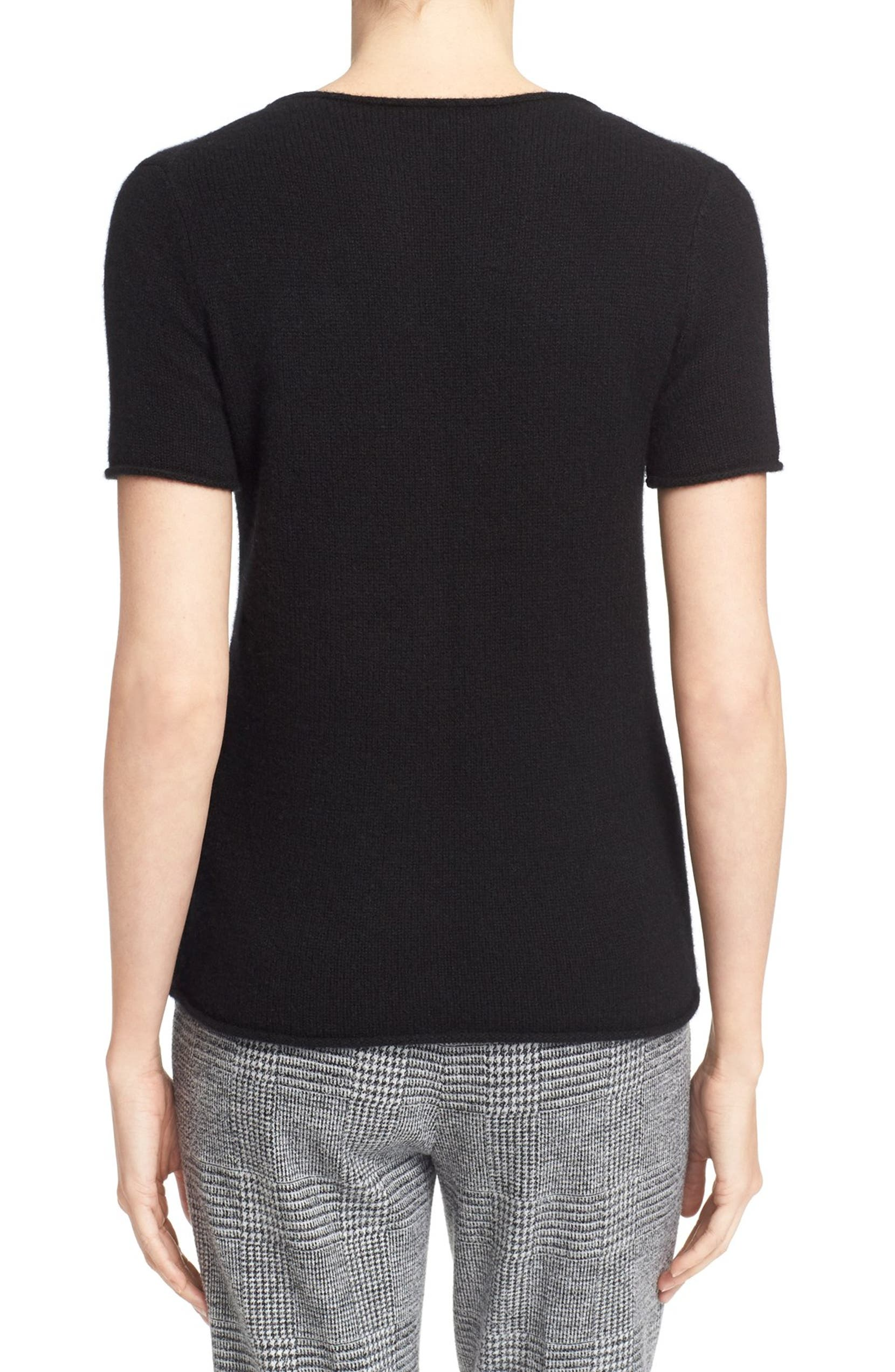 5630297eceb Theory 'Tolleree' Short Sleeve Cashmere Sweater | Nordstrom