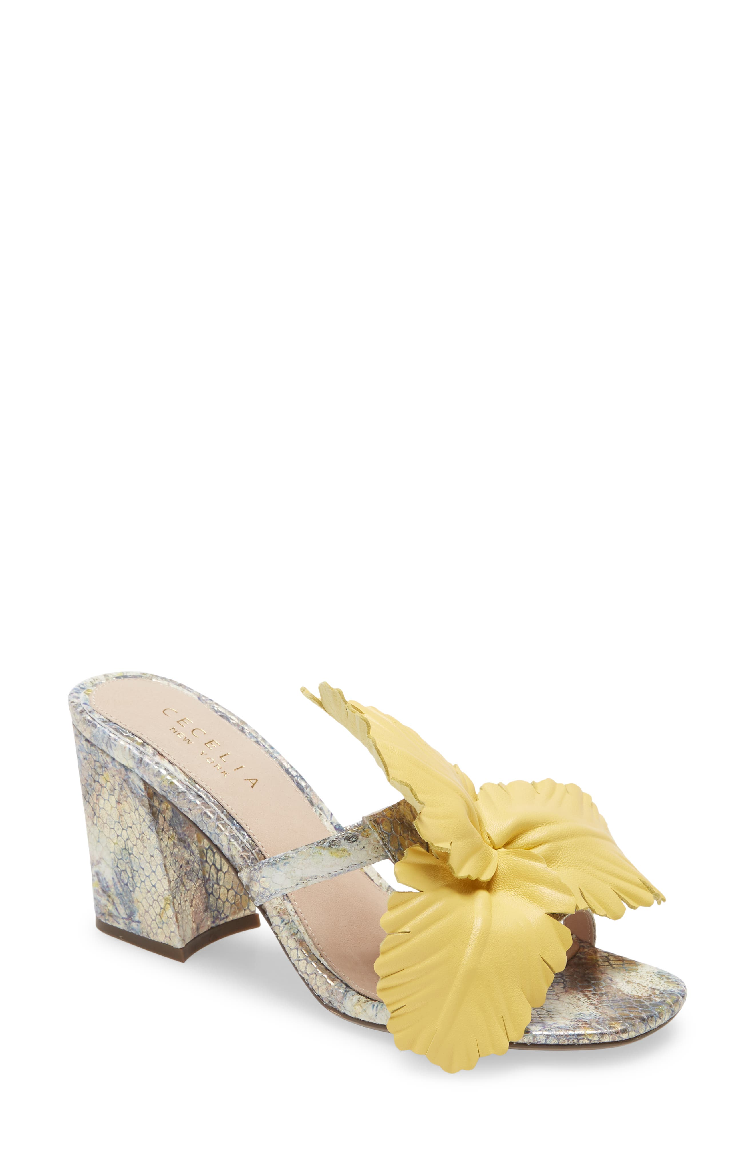 Hibiscus Slide Sandal