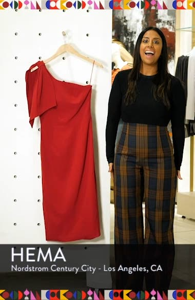 Tiffany One-Shoulder Midi Dress, sales video thumbnail