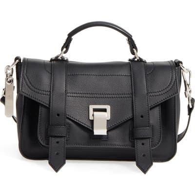 Proenza Schouler Tiny Ps1+ Grainy Leather Satchel -