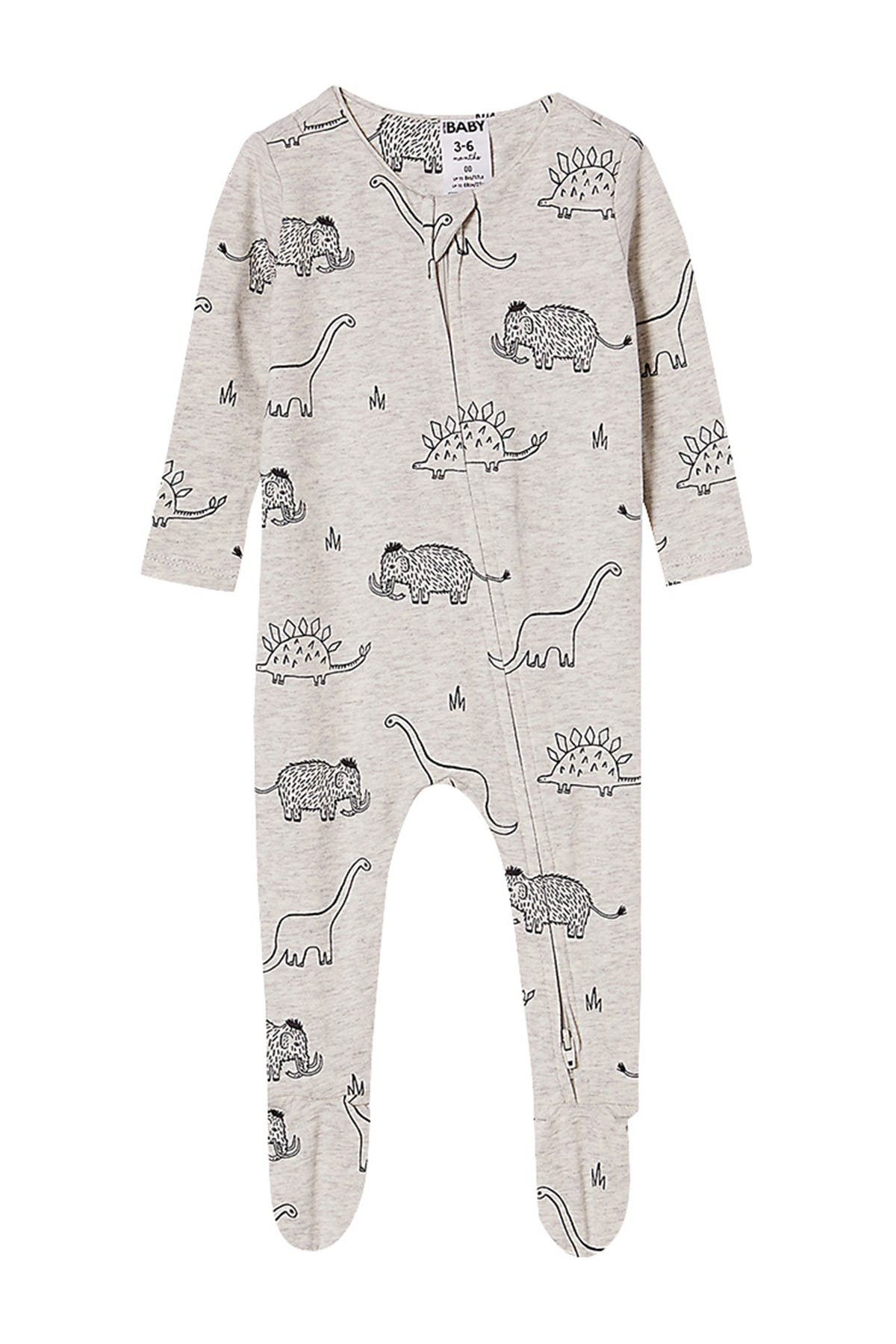 Image of Cotton On The Snug Long Sleeve Zip Romper