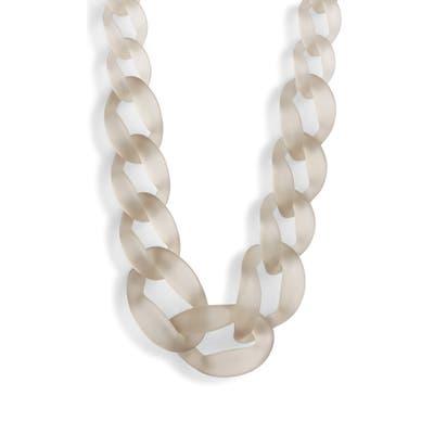 Knotty Link Necklace