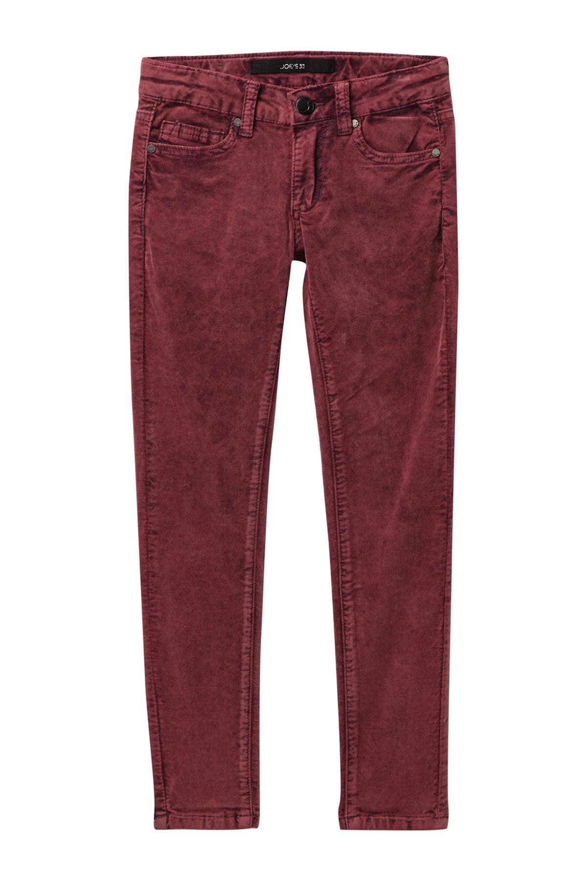 Image of Joe's Jeans Mid Rise Skinny Ribbless Corduroy Jeans