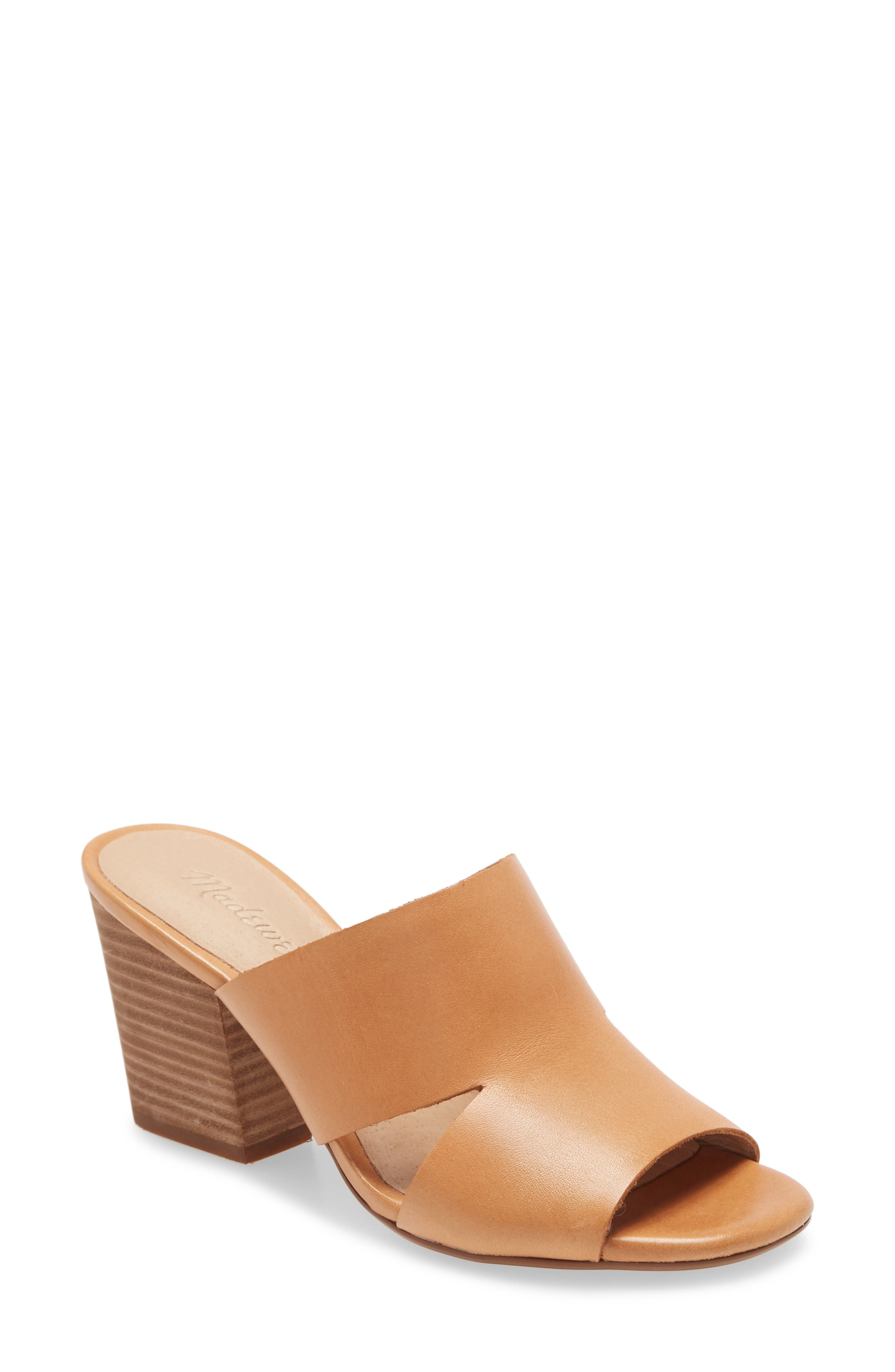 Flirty cutouts and a super-chunky stacked heel give these leather mules a sleek \\\'90s vibe. Dressed up or down, they\\\'re the ones you\\\'ll wear every day. And, cushiness alert: Madewell\\\'s MWL Cloudlift Lite padding feels like walking on a-well, you know. Style Name: Madewell The Tessa Mule (Women). Style Number: 5986468. Available in stores.