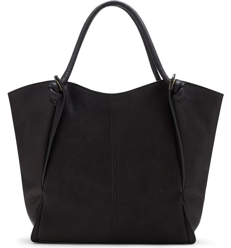 VINCE CAMUTO 'Halie' Leather Tote, Main, color, 001