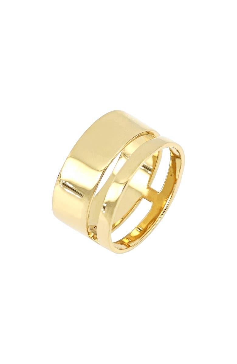 BONY LEVY Ofira Bold 14K Gold Ring, Main, color, 14KY