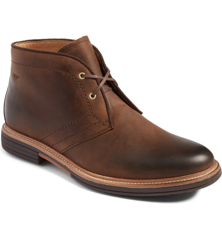 UGG<SUP>®</SUP> Australia Dagmann Chukka Boot, Main, color, GRIZZLY