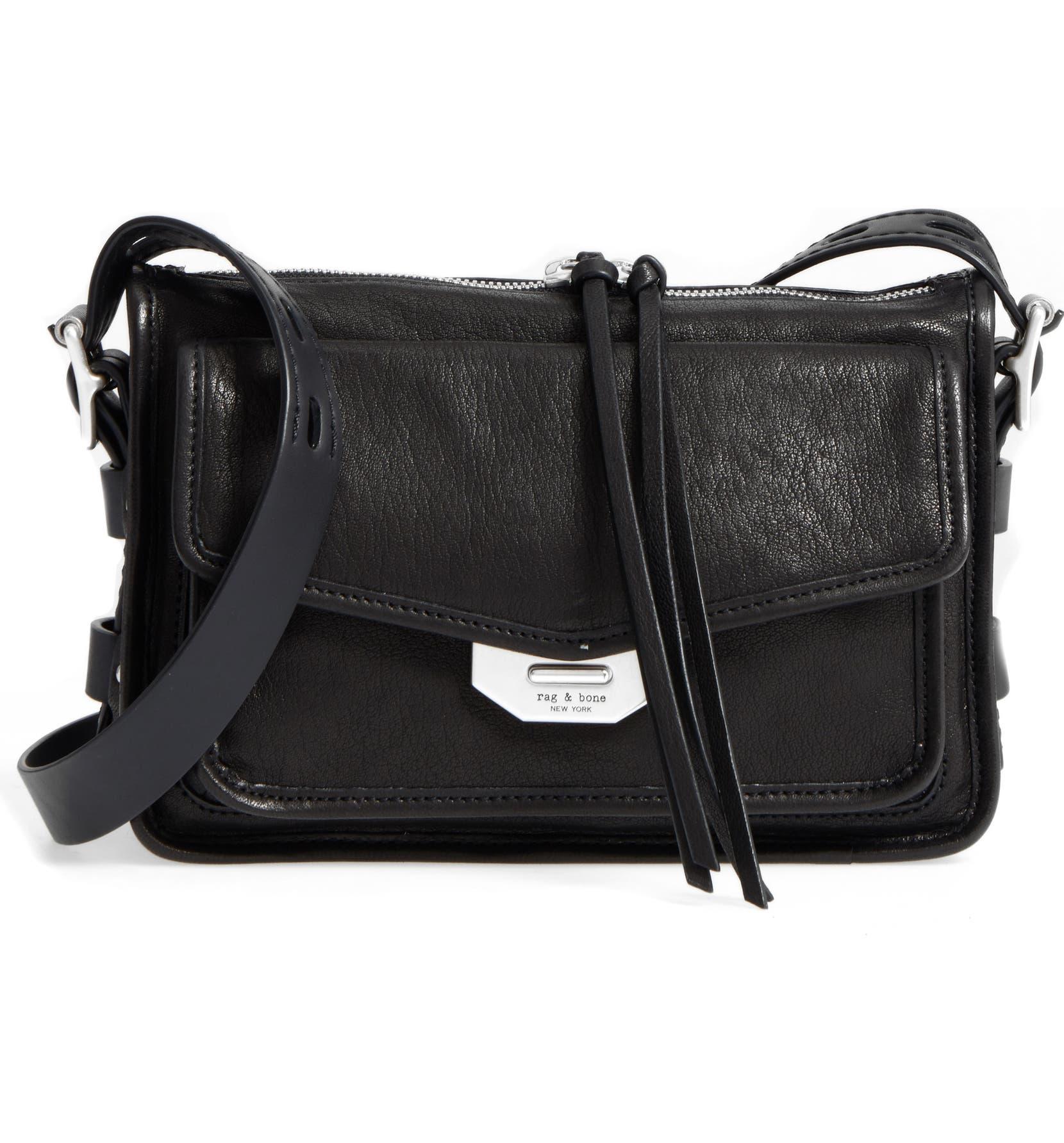 068549ea0912 Small Field Leather Messenger Bag