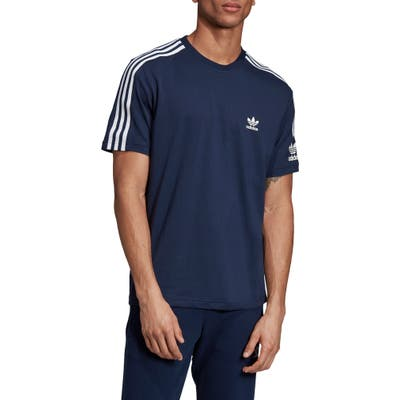 Adidas Originals Lock Up T-Shirt, Blue