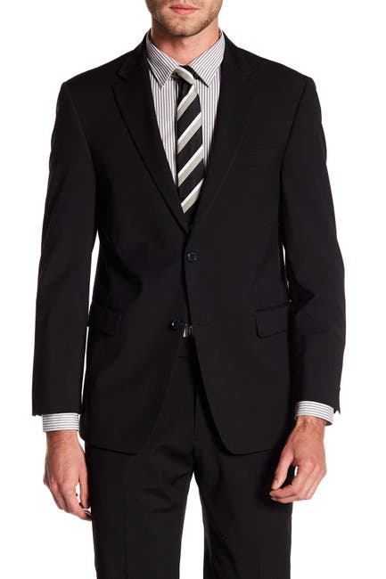 Image of Tommy Hilfiger Adams Modern Fit TH Flex Performance Wool Blend Suit Separates Jacket