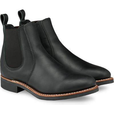 Red Wing 6-Inch Chelsea Boot- Black