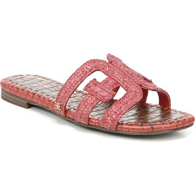 Sam Edelman Beckie Slide Sandal, Red