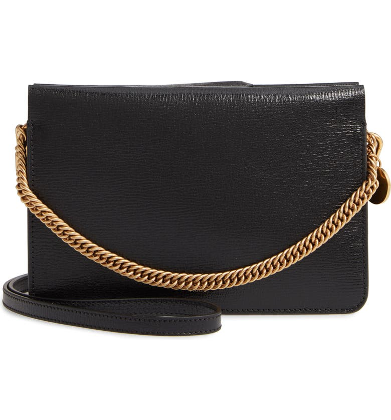 ca3ea8eb41e Givenchy Cross 3 Leather Crossbody Bag | Nordstrom