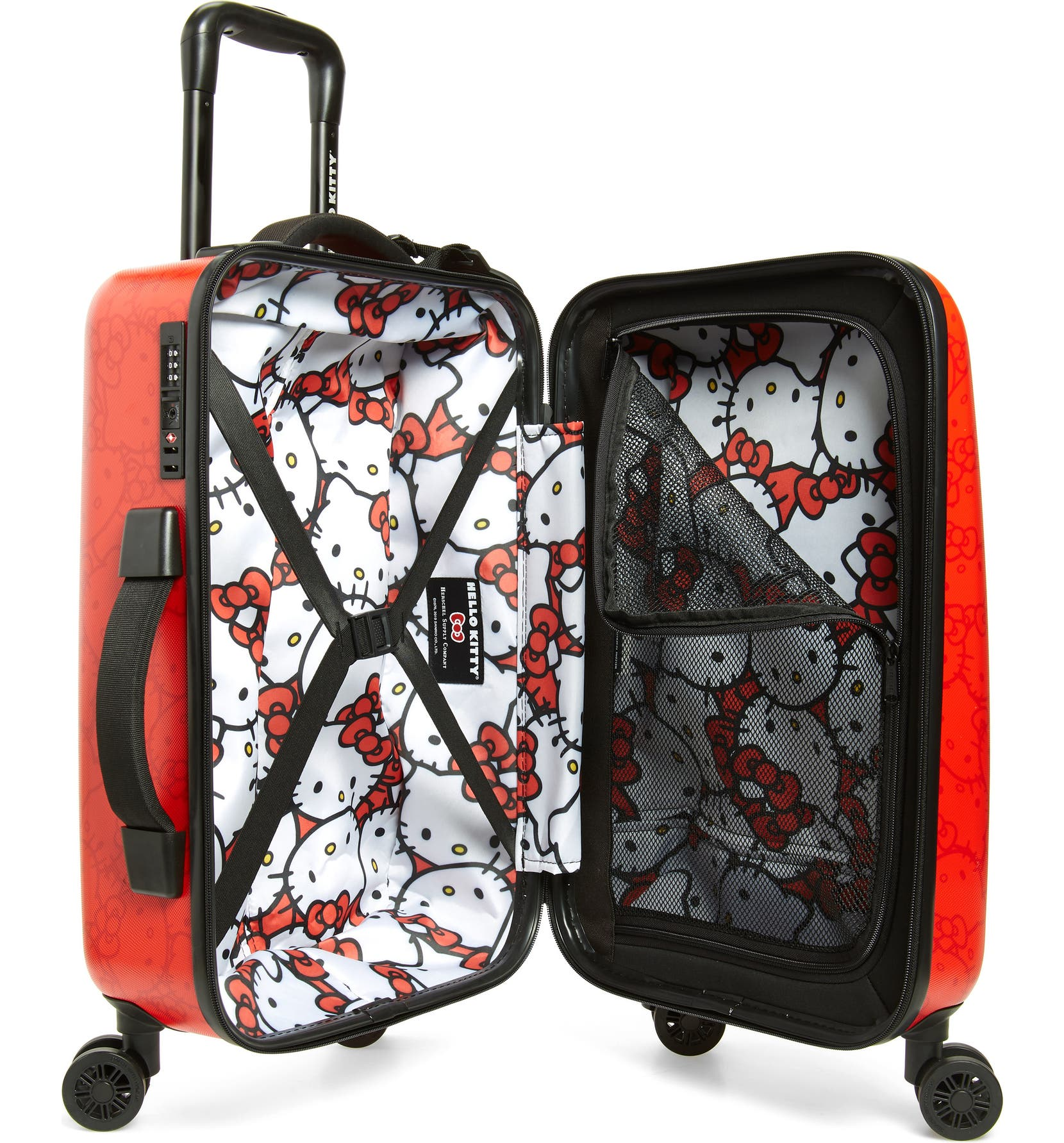 b318b7fa6 Herschel Supply Co. x Hello Kitty Trade Small 23-Inch Rolling Suitcase |  Nordstrom