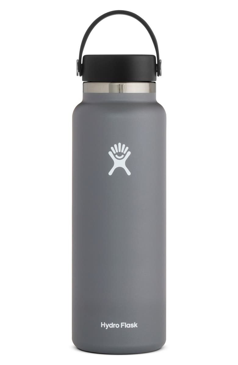 HYDRO FLASK 40-Ounce Wide Mouth Cap Bottle, Main, color, 051