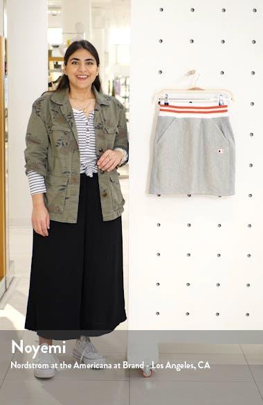 Yarn Dyed Stripe Waist Skirt, sales video thumbnail