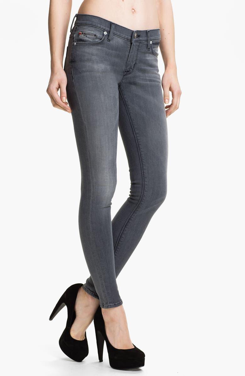 HUDSON JEANS 'Nico' Skinny Stretch Jeans, Main, color, 010