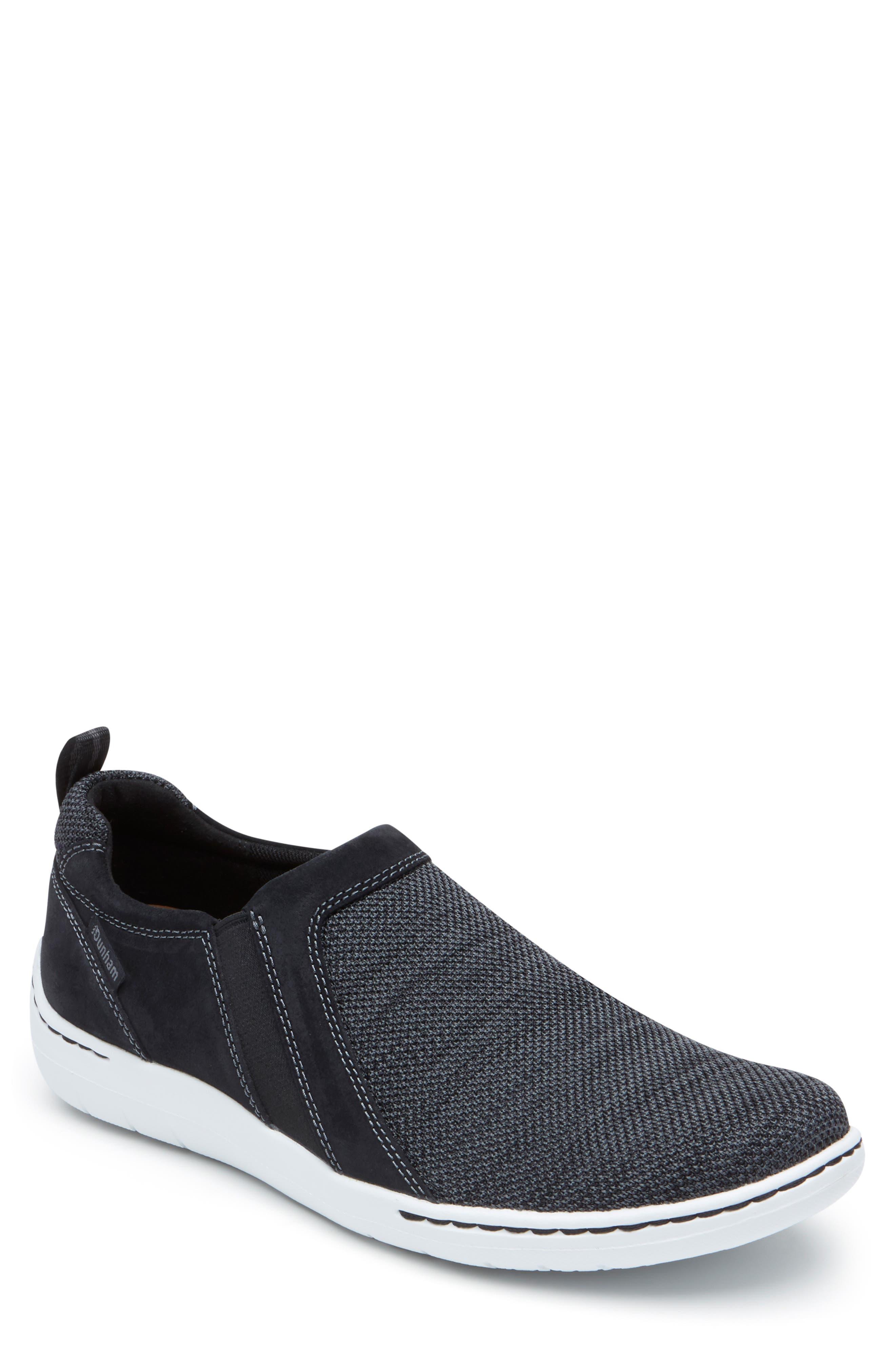 Fitmsart Slip-On, Main, color, BLACK TEXTILE