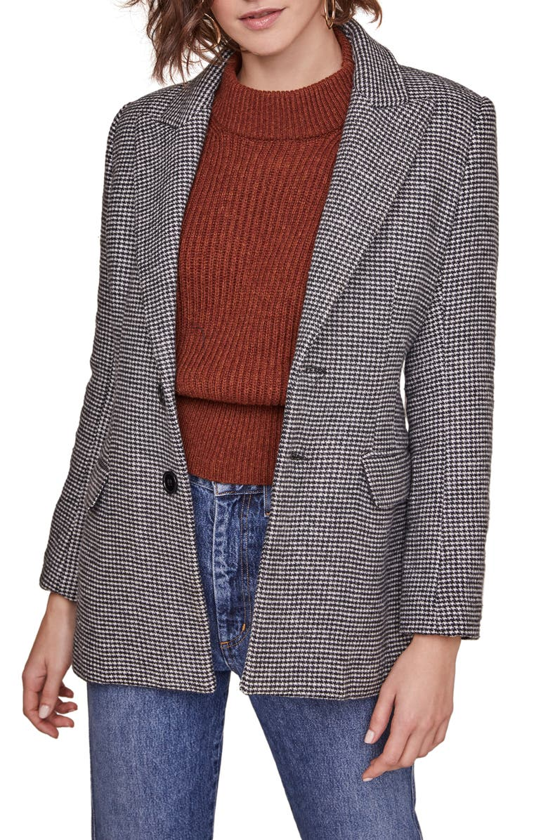 One Houndstooth Blazer, Three Ways