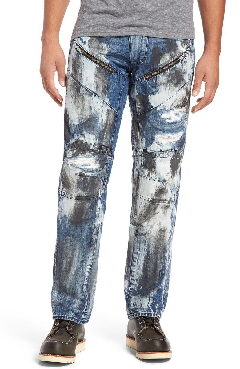 PRPS Barracuda Straight Leg Jeans, Main, color, 490