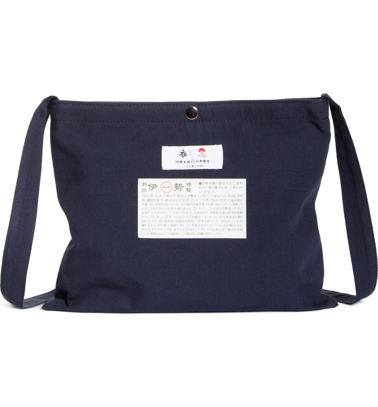 BEAMS JAPAN Crossbody Bag, Main, color, INDIGO