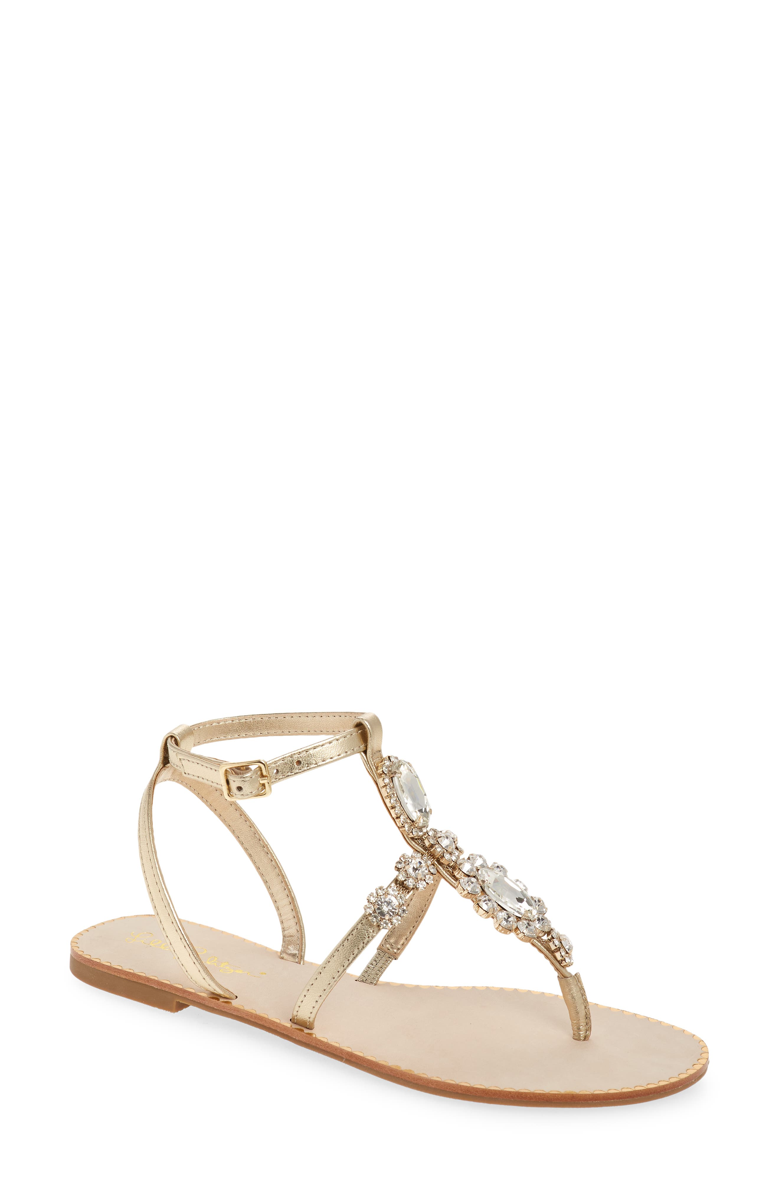 Women's Lilly Pulitzer Katie Crystal Sandal