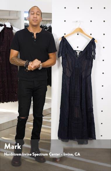 Sleeveless Stripe Silk Maxi Dress, sales video thumbnail
