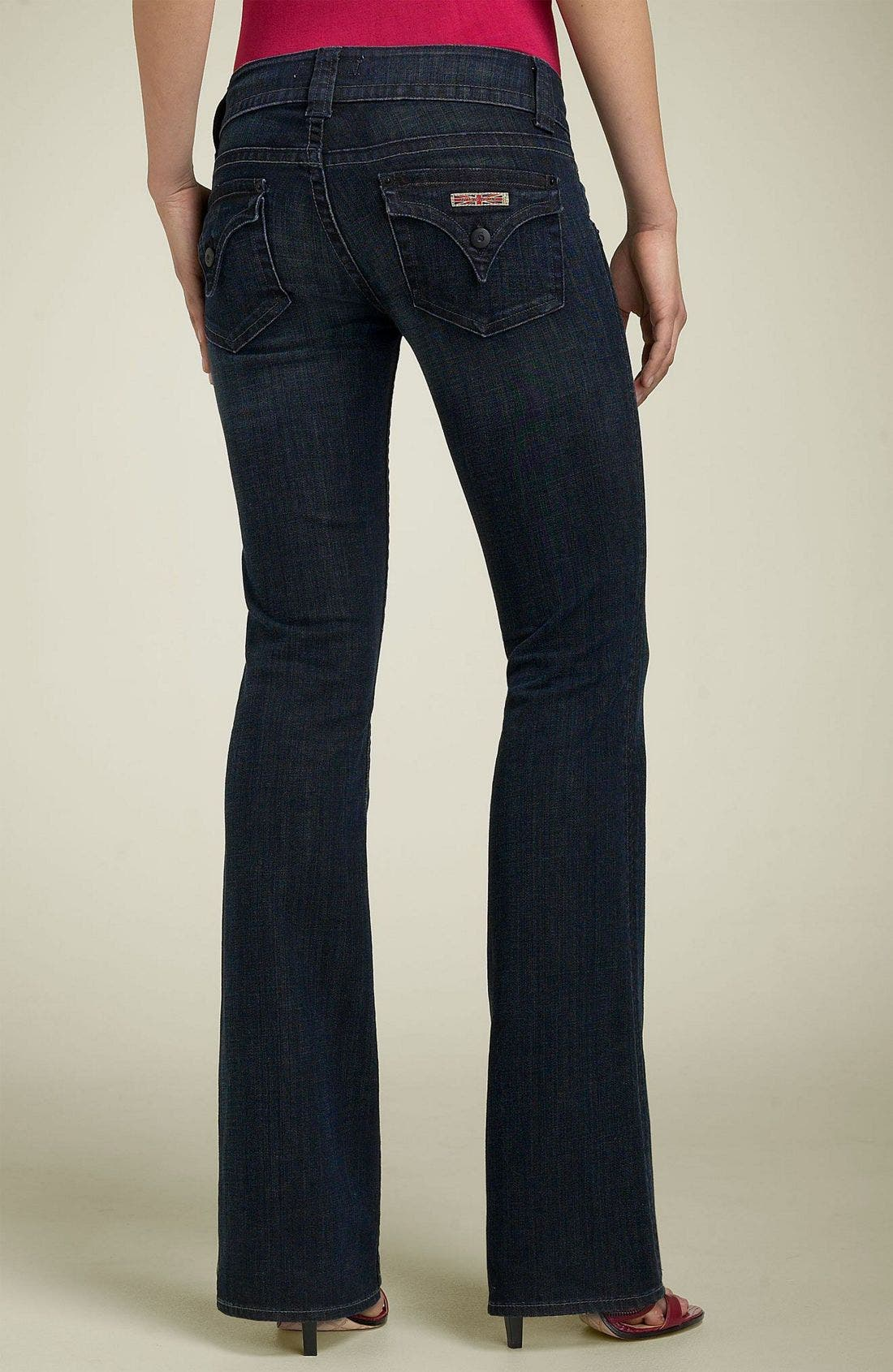 ,                             Signature Flap Pocket Bootcut Jeans,                             Alternate thumbnail 83, color,                             488