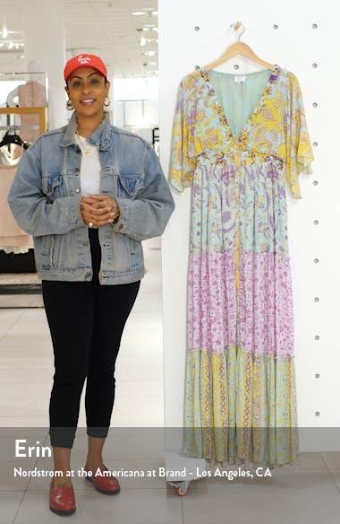 Print Cover-Up Maxi Dress, sales video thumbnail