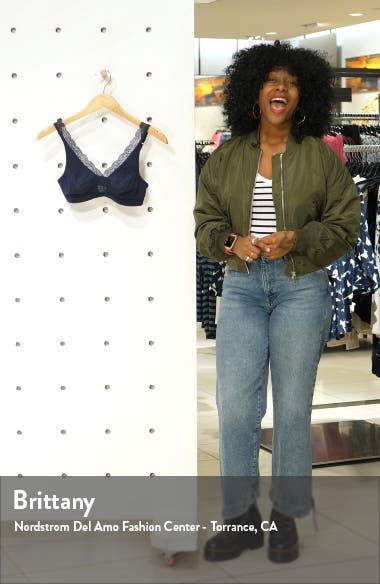 Lace Trim Bralette, sales video thumbnail