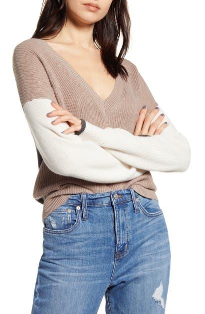 Splendid Sweaters GEMMA COLORBLOCK SWEATER