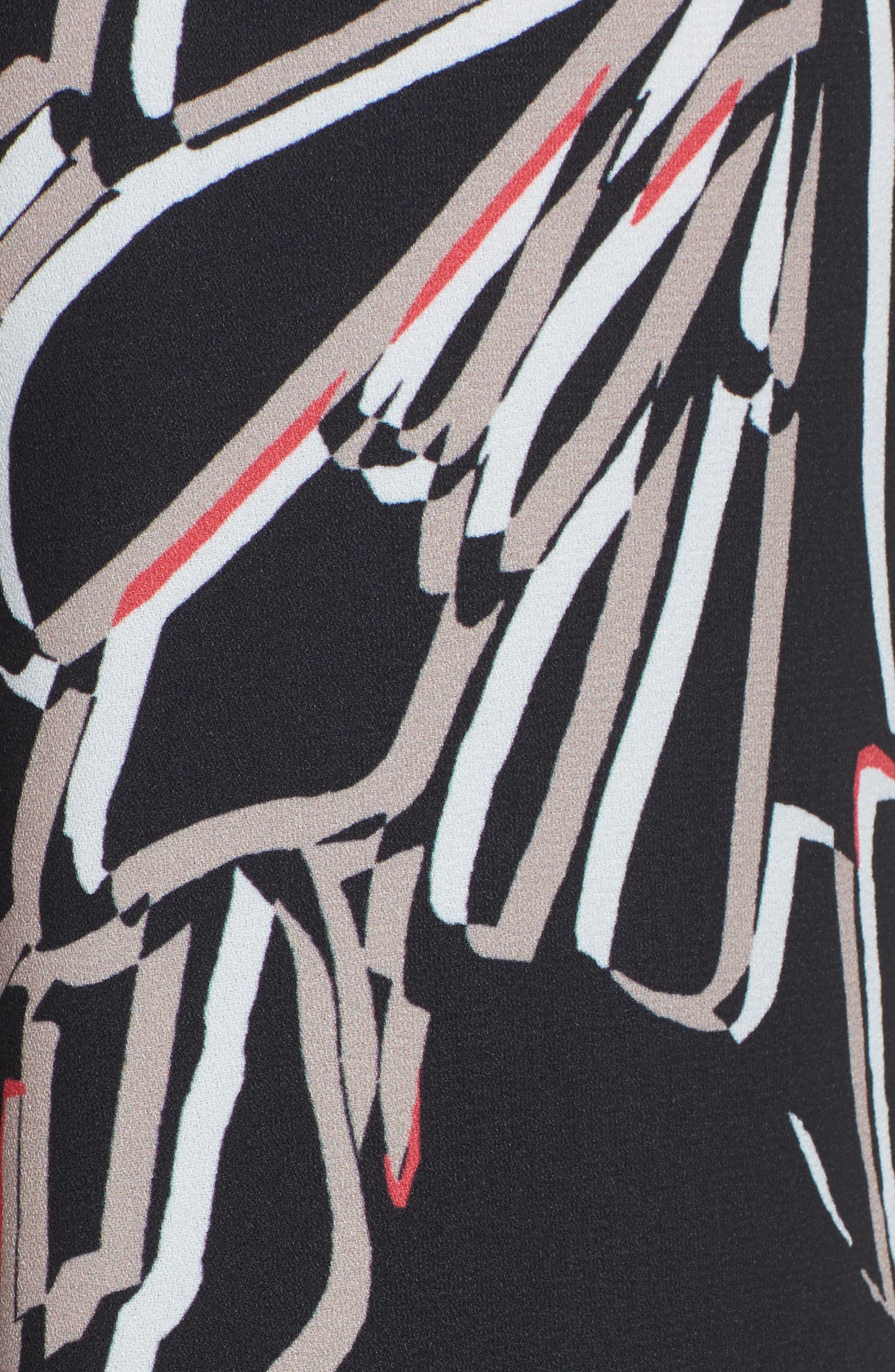 ,                             Wide Leg Crop Pants,                             Alternate thumbnail 6, color,                             002