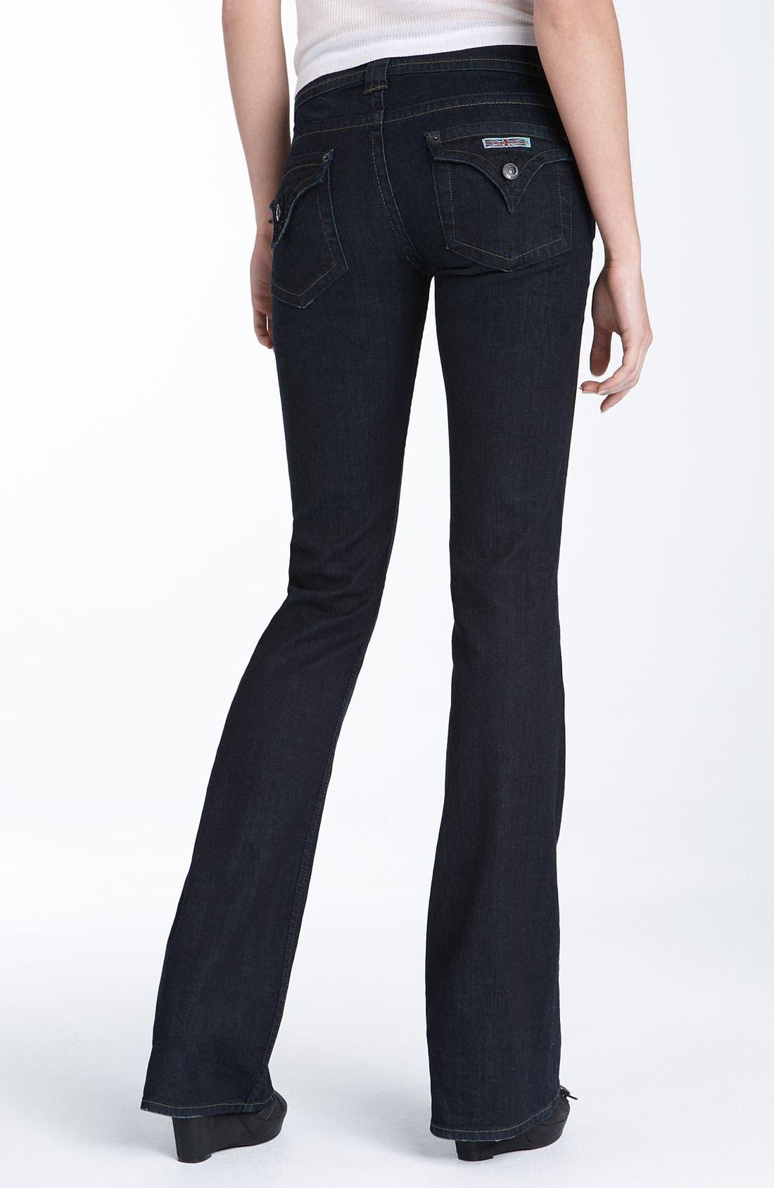 ,                             Signature Flap Pocket Bootcut Jeans,                             Alternate thumbnail 21, color,                             400