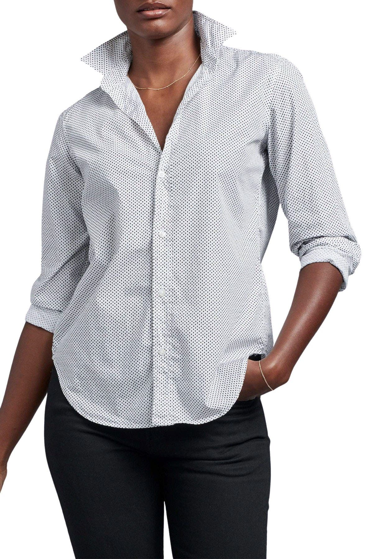 Image of FRANK & EILEEN Frank Woven Collared Shirt