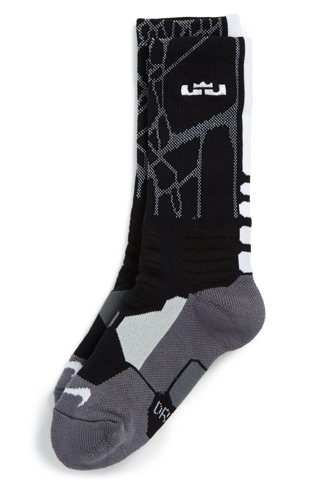 Leeds curso Circunferencia  Socks Clothing, Shoes & Accessories Nike Hyper Elite Cushioned Basketball  Crew Socks myself.co.ls