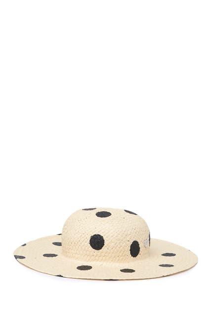 Image of Betsey Johnson Polka Dot Floppy Hat