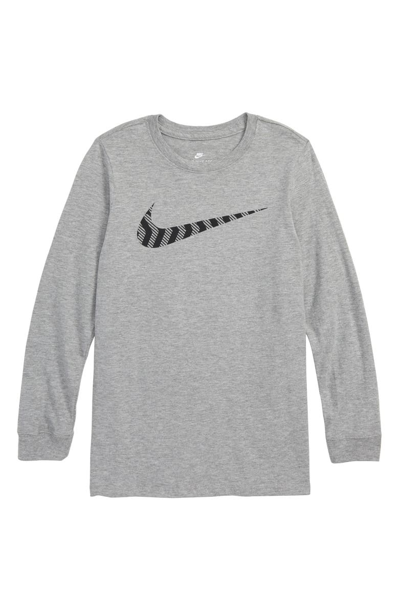 Nike Sportswear Swoosh Graphic T Shirt Little Boys Big Boys