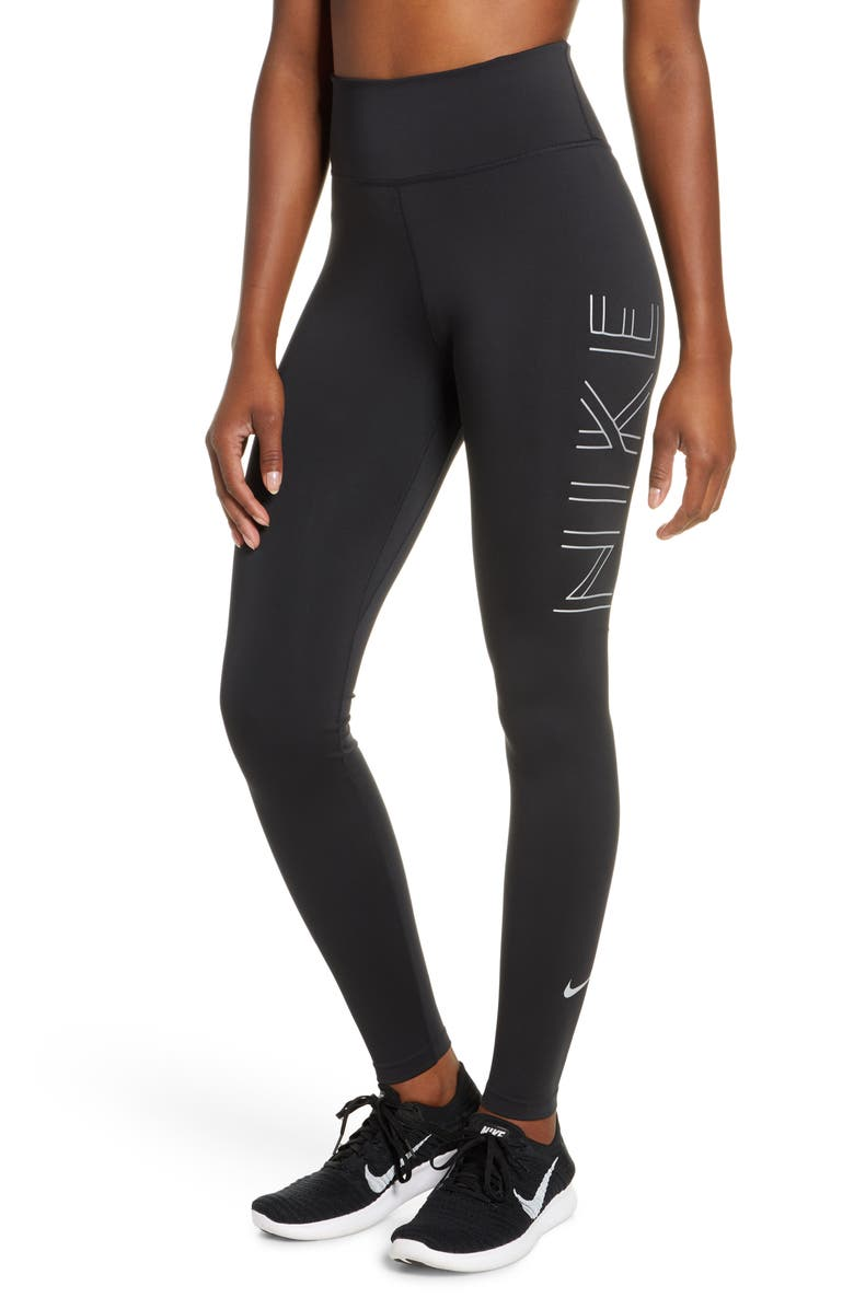 nike dri fit leggings running