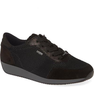 Ara Lila Gore-Tex Waterproof Sneaker, Black