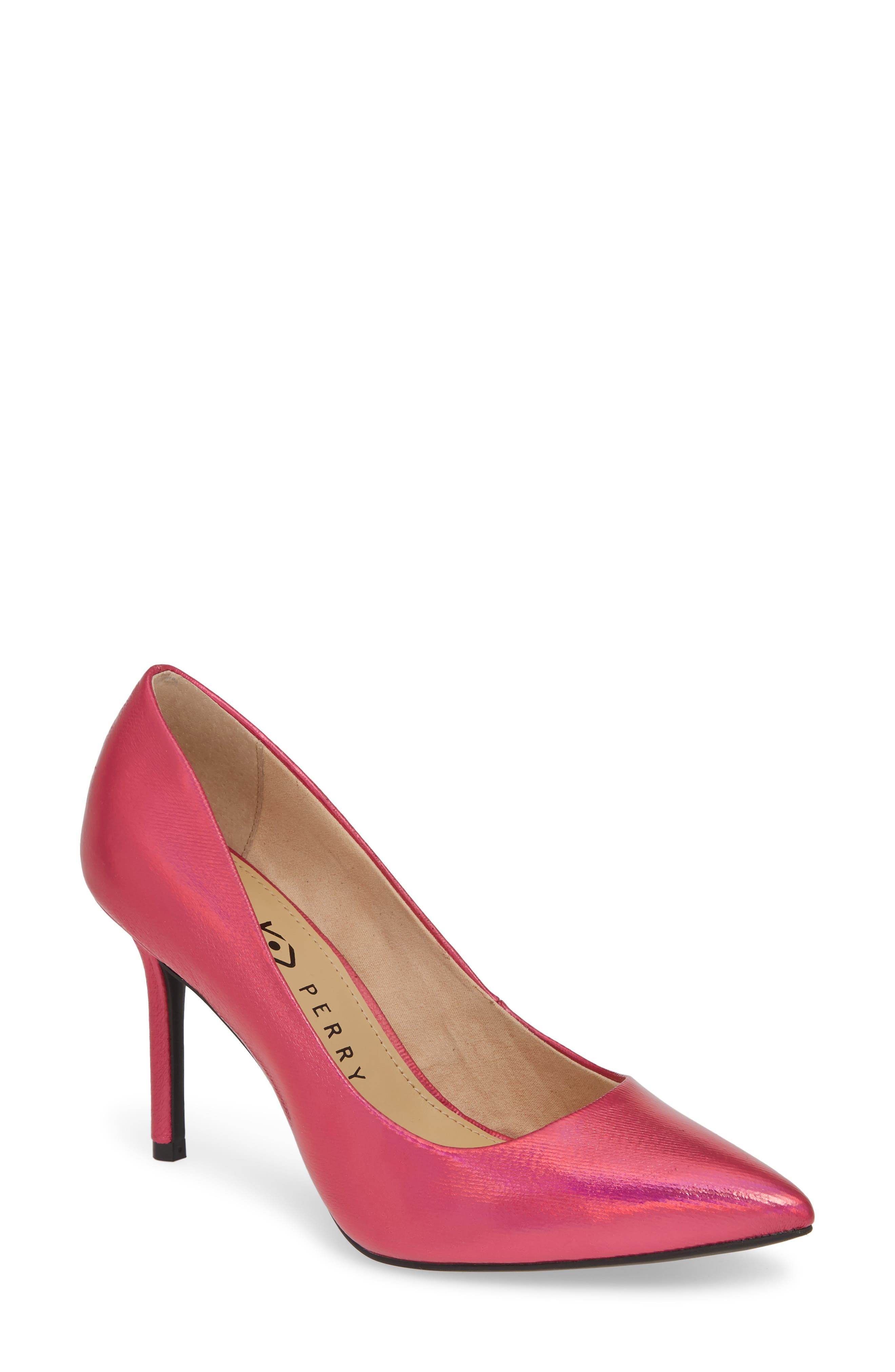 women's katy perry the sissy pump, size 9.5 m - pink